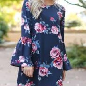 Floral Everly Shift Dress